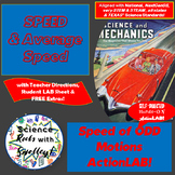 Calculate SPEED of ODD Motions Action LAB