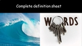 Wave speed + Free Famous Scientists & literacy in Science