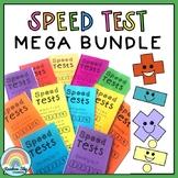 Speed test MEGA BUNDLE - Math Fluency (Mental Maths)