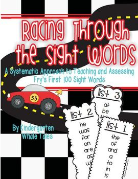 Speeding Through the Sight Words: A Tool to Teach and Assess the 1st 100 Words