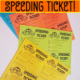 Speeding Ticket!
