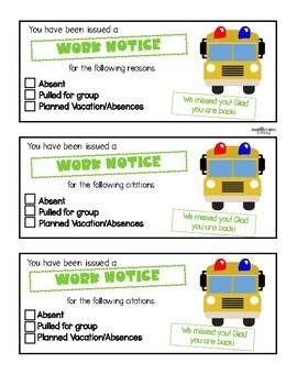 Speeding Ticket -  Completing work