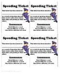 Speeding Ticket with Cents