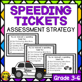 Speeding Tickets- Student Accountibility