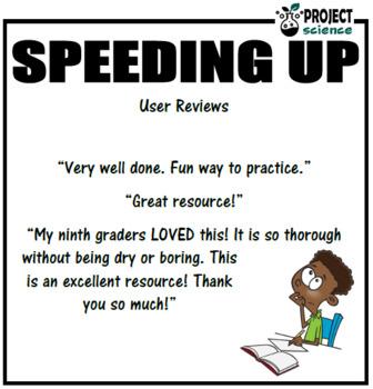 Speeding Up: Speed, distance & time activity book