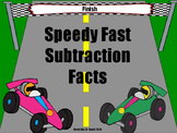 Speedy Fast Subtraction Facts