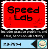 Average Speed Worksheet and Hands-On Lab Activity