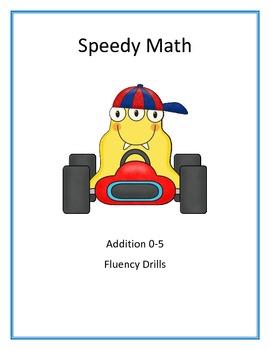 Speedy Math Addition 0-5