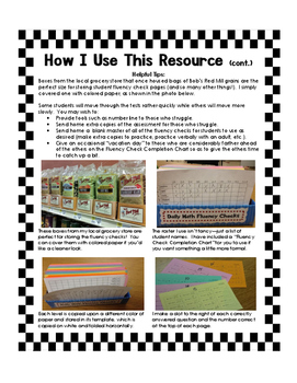 Speedy Math Facts! (Multiplication and Division Pack)