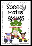 Speedy Maths - Addition & Subtraction -Numbers 0-10