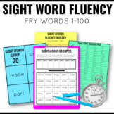 Fry Sight Words Fluency Packet