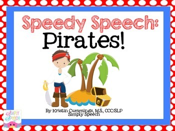 Speedy Speech: Pirates!