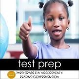 Grade 3 ELA Assessment Prep & Reading Comprehension