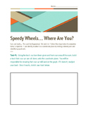 Speedy Wheels... Where Are You?  Hot Wheels Graphing Ordered Pairs Activity
