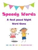 Speedy Words Sight Word Card Game