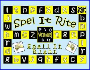 Spel It Rite (A Spelling Game for All Ages)