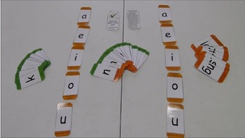 Short vowel wordbuilding game