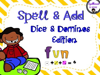 Spell & Add Dice and Domino Edition