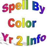 Spell By Color Year Two, Sample information