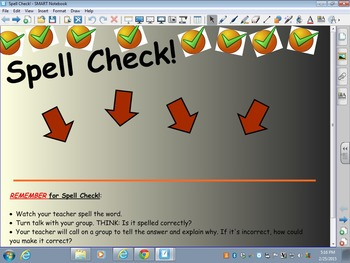 Spell Check! (***Smart Board FREEBIE***)