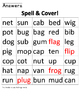 Spell & Cover CVC words