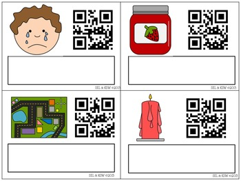 Spell It! A CVC Literacy Center with QR Codes