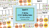 Spell It! A Spring CCVC Spelling Game