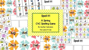 Spell It! A Spring CVC Spelling Game