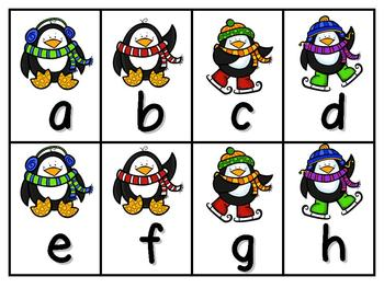 Spell It! A Winter CVC Spelling Game