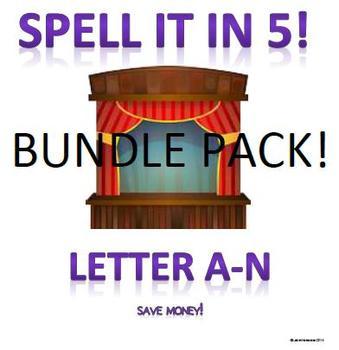 Spell It In 5!  A-N