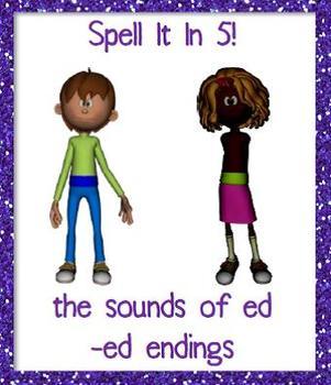 -ED endings (Spell It in 5!)