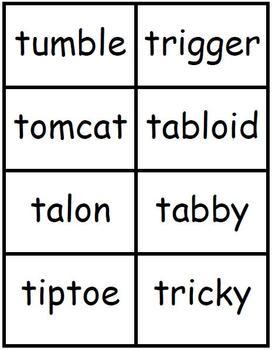 Spell It In 5! Letter T