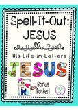 Spell-It-Out JESUS Bulletin Board Letters