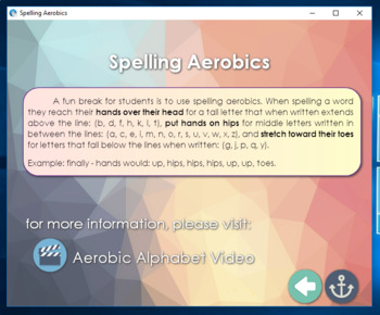 Spell It Right - a set of spelling games