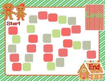 CVC, CCVC, CVCe Word Families Game Christmas Themed