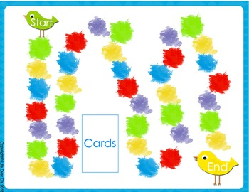 CVC Word Families Board Game