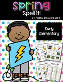 Spell It | Spring | Writing Centers | Vocabulary