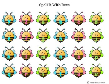 Spell It! With Bees In The Hive