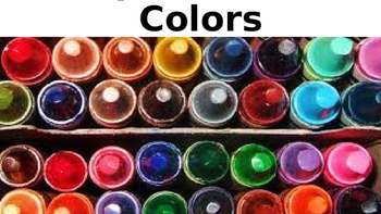 Spell & Mix Colors