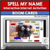 Spell My Name: JAYDEN - Custom No Prep Interactive Internet Activities