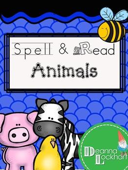 Spell & Read - Animals