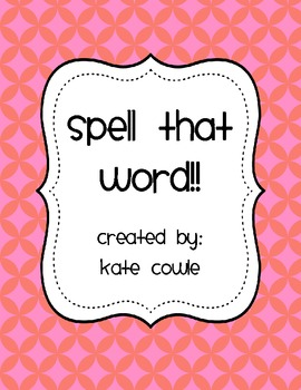 Spell That Word!