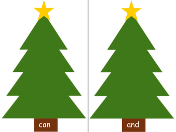 Spell Your Sight Words-Christmas Themed