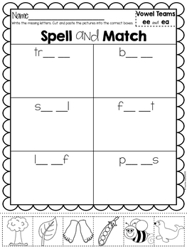 Spell and Match - Bundle