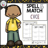 CVCe Spelling, Cut and Paste Activities