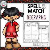 Digraphs Spell and Match