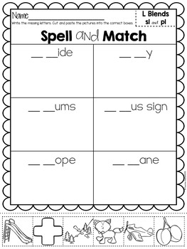 Blends Spell and Match