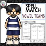 Vowel Teams Spelling, Cut and Paste Activities