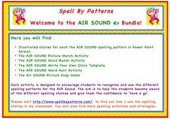 Spell by Patterns: AIR SOUND BUNDLE