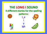 Spell by Patterns: LONG I STORIES